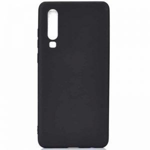 Матовый силиконовый (TPU) чехол для Xiaomi Mi 9 – Черный