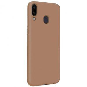 Силиконовый чехол Epic матовый soft-touch для Samsung Galaxy A10s 2019 (A107) — Коричневый