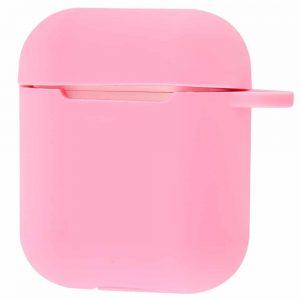 Чехол для наушников Colourful Case + карабин для Apple Airpods – Cotton candy