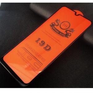 Защитное стекло 19D Full Glue Cover Glass на весь экран для Samsung Galaxy A20 / A30 / A30s / A50 / A50s / M30 / M30s – Black