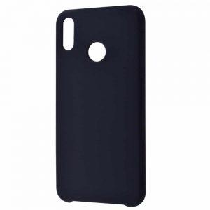 Чехол Silicone Case WAVE Full с микрофиброй для Huawei Honor 8x – Black