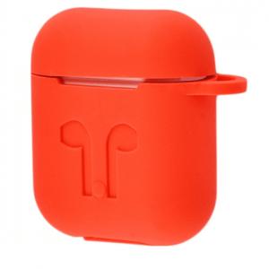 Чехол для наушников Silicone Case для Apple Airpods – Red