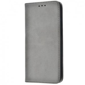 Чехол-книжка Black TPU Magnet для Samsung Galaxy M30s / M21 – Gray