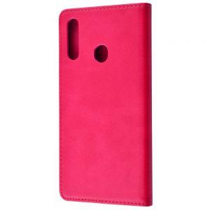 Чехол-книжка Black TPU Magnet для Samsung Galaxy A20s 2019 (A207) – Pink