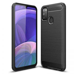Cиликоновый TPU чехол Slim Series для Samsung Galaxy M30s / M21 – Черный