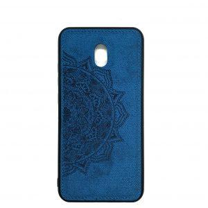 TPU+Textile чехол Mandala с 3D тиснением для Xiaomi Redmi 8A — Синий