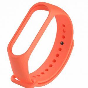 Ремешок для фитнес-браслета Xiaomi Mi Band 3 / 4 – Orange