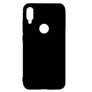 Матовый силиконовый (TPU) чехол для Xiaomi Mi Play – Черный