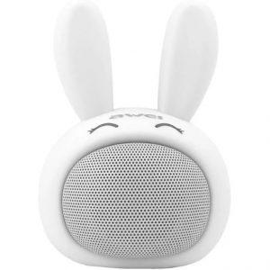 Портативная колонка Awei Y700 Bunny – White