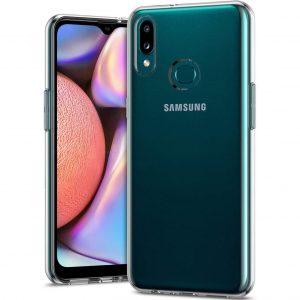 Прозрачный силиконовый TPU чехол 1,0mm для  Samsung Galaxy A10s 2019 (A107)
