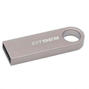 Флеш-память Kingston DT SE9 4GB Metal – Silver