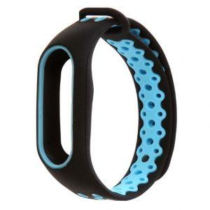 Ремешок для фитнес-браслета Xiaomi Mi Band 2 Sport – Black / Blue