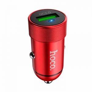 Автомобильное зарядное устройство HOCO Z32 Speed UP Quick Charge 3.0 (1USB / 3.0A) – Red