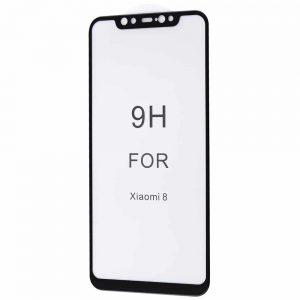 Защитное стекло 5D Premium 9H Full Glue на весь экран для Xiaomi Mi 8 / Mi 8 Explorer – Black