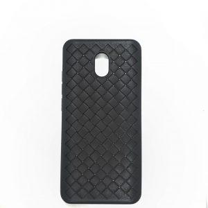 Cиликоновый (TPU) чехол Weaving Case для Xiaomi Redmi 8A – Черный