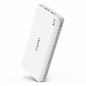 Внешний аккумулятор Power Bank Romoss 20000mAh – White