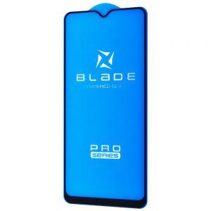 Защитное стекло 3D (5D) Blade Glass Full Glue на весь экран для Samsung A20s (A207F) – Black