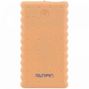 Внешний аккумулятор Power Bank SunPin с фонариком 5000mAh – Cookie