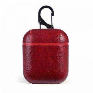 Чехол для наушников Casual Case для Apple Airpods – Red Coffee