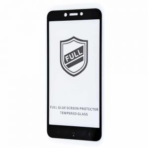 Защитное стекло 3D (5D) Perfect Glass Full Glue на весь экран для Xiaomi Redmi 4x – Black