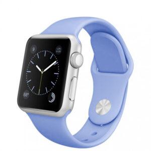 Ремешок силиконовый для Apple Watch 38 mm / 40 mm / SE 40 mm №15 – Lilac Cream