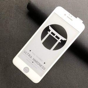 Защитное стекло 5D Japan HD ++ на весь экран для Iphone 7 / 8 – White
