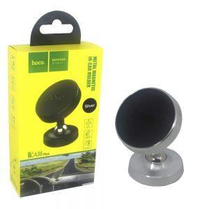 Автомобильный держатель Hoco CA36 Plus Metal Magnetic – Silver