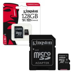 Карта памяти Kingston Micro SD 128GB Class HC-I 10 – Black