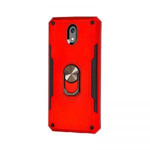 Ударопрочный чехол SG Ring Color под магнитный держатель с кольцом для Xiaomi Redmi 8A — Красный