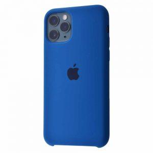 Оригинальный чехол Silicone case + HC для Iphone 11 Pro №12 – Blue cobalt