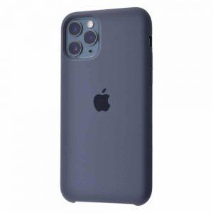 Оригинальный чехол Silicone case + HC для Iphone 11 №37 – Charcoal gray