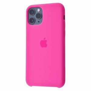Оригинальный чехол Silicone case + HC для Iphone 11 Pro Max №52 – Dragon fruit