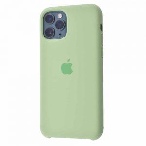Оригинальный чехол Silicone case + HC для Iphone 11 Pro Max №10 – Mint gum