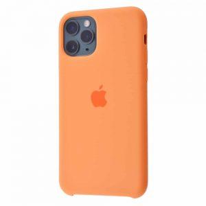 Оригинальный чехол Silicone case + HC для Iphone 11 Pro Max №51 – Papaya