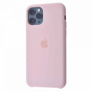 Оригинальный чехол Silicone case + HC для Iphone 11 №8 – Pink sand