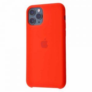 Оригинальный чехол Silicone case + HC для Iphone 11 №5 – Red