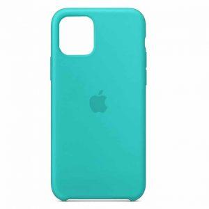 Оригинальный чехол Silicone case + HC для Iphone 11 Pro Max №21 – Turquoise