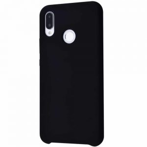 Чехол Silicone Case WAVE Full с микрофиброй для Huawei P Smart Plus / Nova 3i – Black