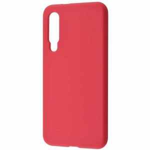 Чехол Silicone Case WAVE Full с микрофиброй для Xiaomi Mi 9 SE – Camellia