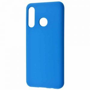 Чехол Silicone Case WAVE Full с микрофиброй для Huawei P30 Lite – Blue