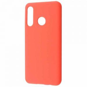 Чехол Silicone Case WAVE Full с микрофиброй для Huawei P30 Lite – Bright pink