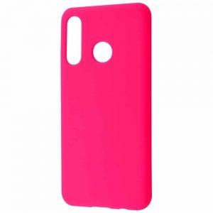 Чехол Silicone Case WAVE Full с микрофиброй для Huawei P30 Lite – Pink
