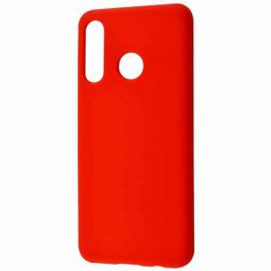 Чехол Silicone Case WAVE Full с микрофиброй для Huawei P30 Lite – Red