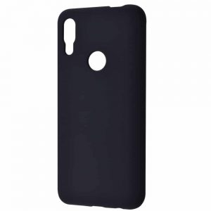 Чехол Silicone Case WAVE Full с микрофиброй для Huawei P Smart Z – Black