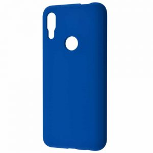 Чехол Silicone Case WAVE Full с микрофиброй для Huawei P Smart Z – Blue