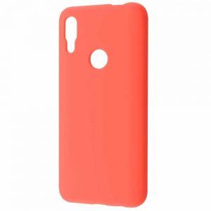 Чехол Silicone Case WAVE Full с микрофиброй для Huawei P Smart Z – Bright pink