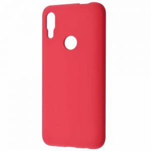 Чехол Silicone Case WAVE Full с микрофиброй для Huawei P Smart Z – Camellia
