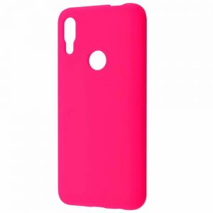 Чехол Silicone Case WAVE Full с микрофиброй для Huawei P Smart Z – Pink