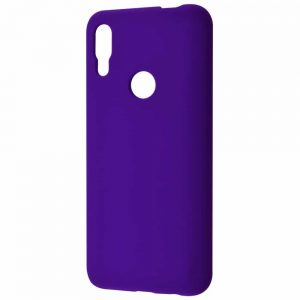 Чехол Silicone Case WAVE Full с микрофиброй для Huawei P Smart Z – Purple