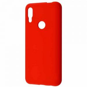 Чехол Silicone Case WAVE Full с микрофиброй для Huawei P Smart Z – Red